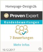 Erfahrungen & Bewertungen zu Homepage-Design24