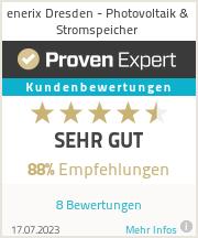 Erfahrungen & Bewertungen zu enerix Dresden - Photovoltaik & Stromspeicher