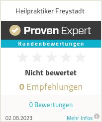 Erfahrungen & Bewertungen zu Heilpraktiker Freystadt