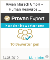 Erfahrungen & Bewertungen zu Vivien Marsch GmbH - Human Resource Development