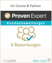 Erfahrungen & Bewertungen zu On Course & Partner