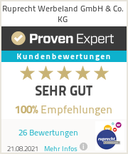 Erfahrungen & Bewertungen zu ruprecht werbeland GmbH & Co. KG