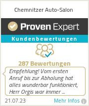 Erfahrungen & Bewertungen zu Chemnitzer Auto-Salon