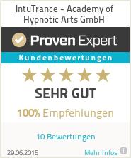 Erfahrungen & Bewertungen zu IntuTrance - Academy of Hypnotic Arts GmbH