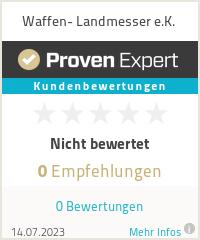 Erfahrungen & Bewertungen zu Waffen- Landmesser e.K.