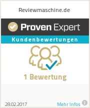 Erfahrungen & Bewertungen zu Reviewmaschine.de