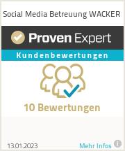 Erfahrungen & Bewertungen zu Social Media Betreuung WACKER