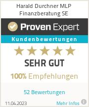Erfahrungen & Bewertungen zu Harald Durchner FINANZSERVICES