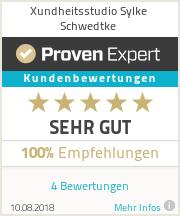 Erfahrungen & Bewertungen zu Xundheitsstudio Sylke Schwedtke