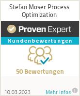 Erfahrungen & Bewertungen zu Stefan Moser Process Optimization
