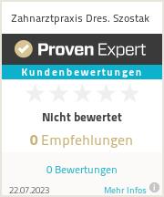Erfahrungen & Bewertungen zu Zahnarztpraxis Dres. Szostak