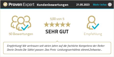 Kundenbewertungen & Erfahrungen zu Reiter Deele Droste. Mehr Infos anzeigen.