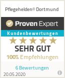 Erfahrungen & Bewertungen zu Pflegehelden® Dortmund