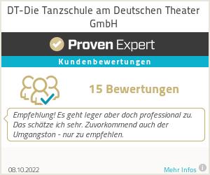 Erfahrungen & Bewertungen zu DT-Die Tanzschule am Deutschen Theater GmbH