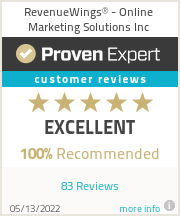 Ratings & reviews for RevenueWings™ - Online Marketing Solutions Inc.