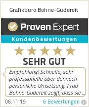Erfahrungen & Bewertungen zu Grafikbüro Bohne-Gudereit