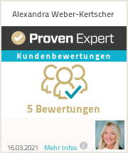 Erfahrungen & Bewertungen zu Alexandra Weber-Kertscher