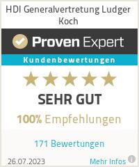 Erfahrungen & Bewertungen zu HDI Generalvertretung Ludger Koch