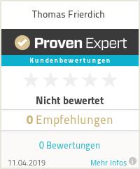 Erfahrungen & Bewertungen zu Thomas Frierdich