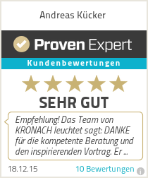 Erfahrungen & Bewertungen zu Andreas Kücker
