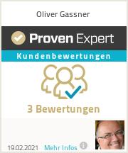 Erfahrungen & Bewertungen zu Oliver Gassner