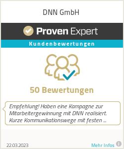 Erfahrungen & Bewertungen zu DNN Marketing GmbH