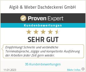 Erfahrungen & Bewertungen zu Algiè & Weber Dachdeckerei GmbH