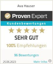 Erfahrungen & Bewertungen zu Ava Hauser