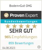 Erfahrungen & Bewertungen zu Boden+Gut OHG