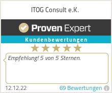 Erfahrungen & Bewertungen zu ITOG-Consult