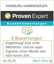 Erfahrungen & Bewertungen zu HAMBURG-KAMMERJÄGER