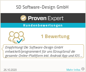 Erfahrungen & Bewertungen zu SD Software-Design GmbH