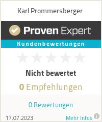 Erfahrungen & Bewertungen zu Karl Prommersberger