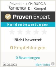 Erfahrungen & Bewertungen zu Klinik Dr. Kümpel