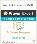 Erfahrungen & Bewertungen zu Institut Korherr & Kalff