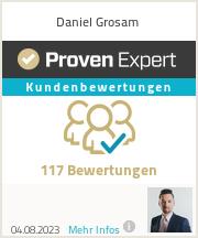 Erfahrungen & Bewertungen zu Daniel Grosam