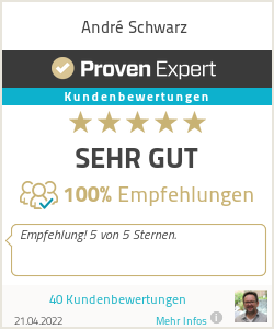 Erfahrungen & Bewertungen zu André Schwarz