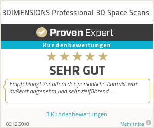 Erfahrungen & Bewertungen zu 3DIMENSIONS Professional 3D Space Scans