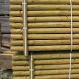 Holzpfahlhandel