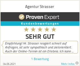 Erfahrungen & Bewertungen zu Agentur Strasser