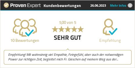 Kundenbewertungen & Erfahrungen zu Katharina Gieschen. Mehr Infos anzeigen.