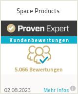 Erfahrungen & Bewertungen zu Space Products