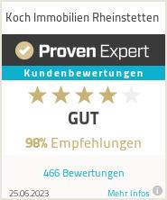Erfahrungen & Bewertungen zu Koch Immobilien Rheinstetten