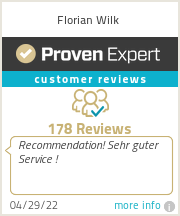 Ratings & reviews for Florian Wilk
