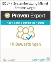 Erfahrungen & Bewertungen zu EDV- / Systemberatung Michel Streimelweger