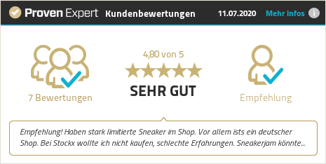 Kundenbewertungen & Erfahrungen zu sneakerjam.de. Mehr Infos anzeigen.