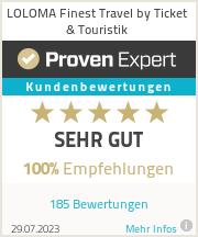 Erfahrungen & Bewertungen zu LOLOMA Finest Travel by Ticket & Touristik