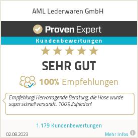Erfahrungen & Bewertungen zu AML Lederwaren GmbH