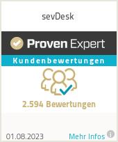 Erfahrungen & Bewertungen zu sevDesk