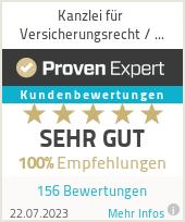 Erfahrungen & Bewertungen zu Kanzlei für Versicherungsrecht / Rechtsanwalt Jürgen Wahl